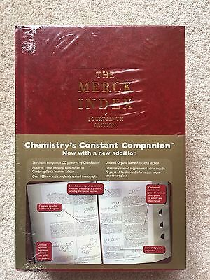Brand New With Original Packing The Merck Index 24th Edition