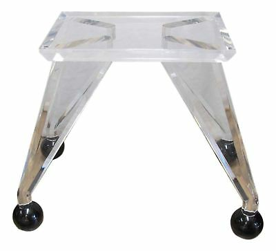 Mid-Century Modern Lucite Dining Table Base