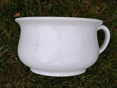 Chamber Pot Bed Pan Victorian/Edwardian Ironstone