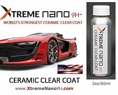 XTREME NANO 9H CERAMIC-PRO CAR COATING (HIGH GLOSS) - 2oz/59ml  MADE IN USA