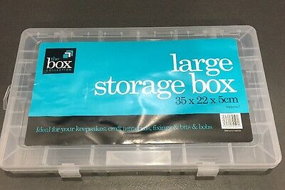 Large Storage Box. Great For Lego miniFigures /Lego Dimensions Capsule 35X22X5CM