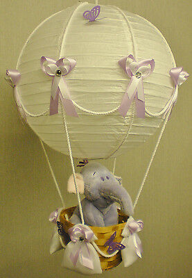 Hot Air Balloon Lamp-light Shade for Baby Nursery with LUMPY