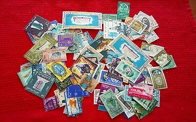 1960's Egypt stamps - 114 different - see notes