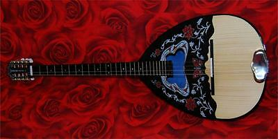 Acoustic Greek Bouzouki 8 Strings With Case And Pick Up!! Special Offer!!!