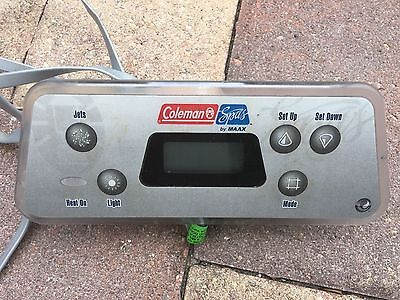 Coleman Spa Control Panel, 5 Button,  Deluxe, C430