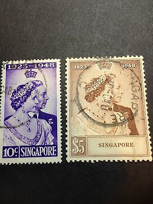 1948 Silver Wedding Singapore Used