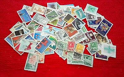 Canada stamps - 94 different used /see scans notes