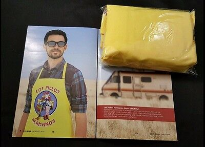 Breaking Bad Official Los Pollos Hermanos Costume Apron Yellow BBQ Loot create