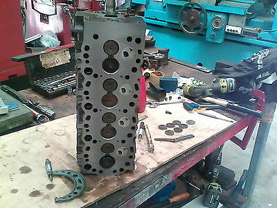 Toyota 3L Head ,Seats Cut, Valves Faced ,Milled, Shimed, New Cam Bearings,Seals
