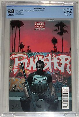 Punisher #2 Jerome Opena 1:50 Retailer Incentive Variant CBCS>CBC 9.8