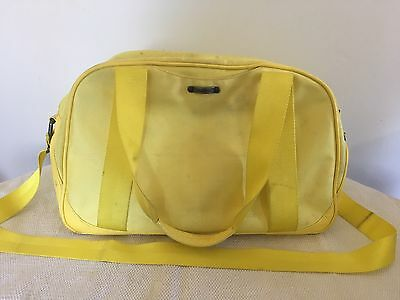 Lululemon Yellow Duffle Bag Carry On Gym Yoga Luggage