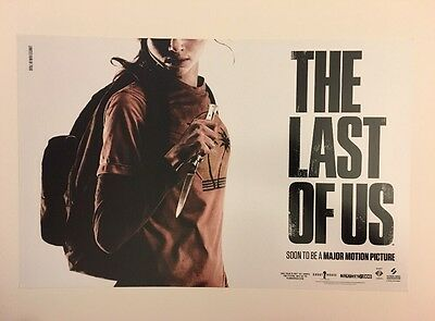 The Last Of Us Poster Print Rare Sdcc 2014 Limited Edition 7000