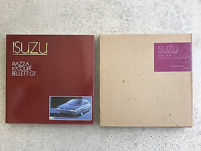 History Of Isuzu Piazza / 117 Coupé / Bellet GT GT-R Hardcover Book Japan Ghia