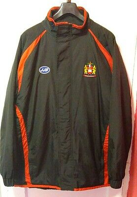 Men's Wigan Warriors Bench Coat Size Xl, Perfect For The Upcoming Semi Final.