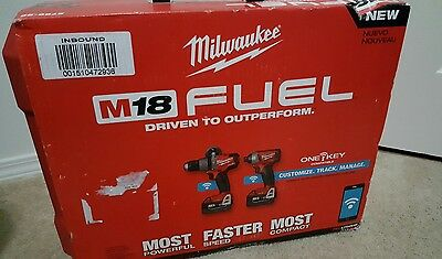 NEW Milwaukee M18 FUEL 2-Tool Hammer & Impact Combo Kit with ONE-KEY 2796-22