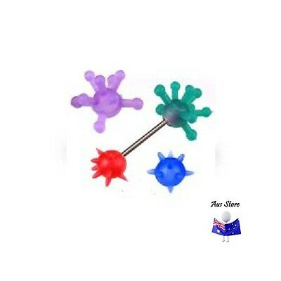 1pc NEW AUS Silicone Ball Cover Pair. Body Jewellery Parts