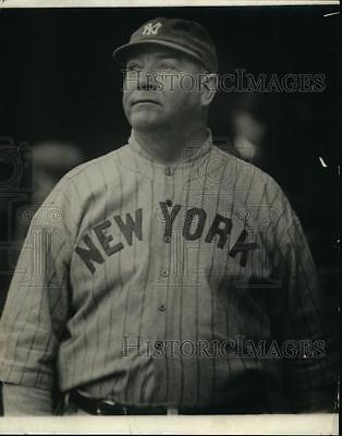 Press Photo Duke Farrell, New York Yankees coach and played during 1888-1905