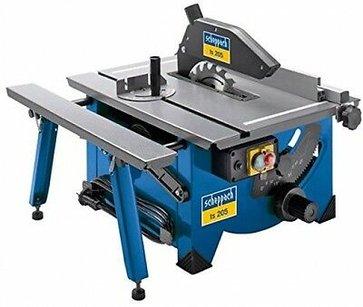 Scheppach TS205 240 V Complete Table Top Saw Bench With Sliding Side Extension