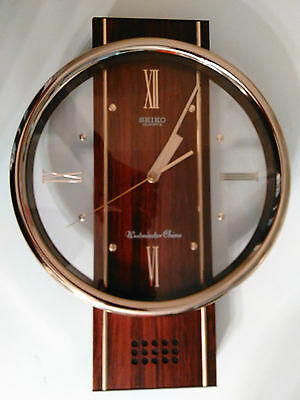 Seiko Westminster Chime Wall Clock 14 X 10