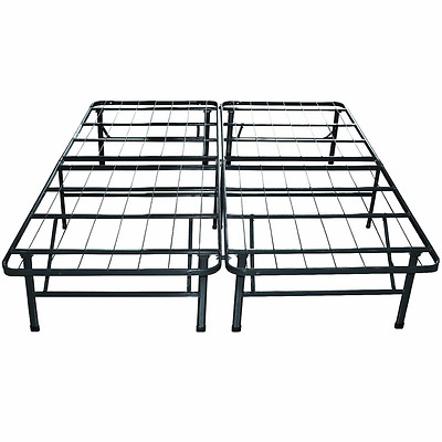 Heavy Duty Metal Bed Frame/Mattress Foundation, Queen Size - Free Shipping - NEW