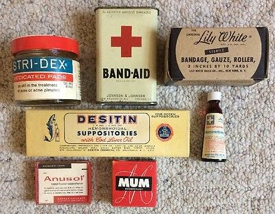 Vintage First Aid Products Advertising