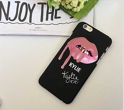 Hard Plastic Kylie Jenner Hot Lips  Logo Phone Case Cover for iPhone 6/6S