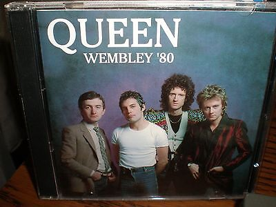 QUEEN  LIVE AT WEMBLEY STADIUM 1980 2 CD SET the game jazz news of the world 2