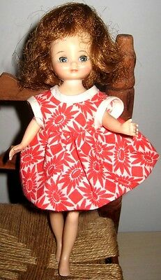 Vintage 1957 1st Year BETSY MCCALL American Character Doll with RED HAIR LOVELY