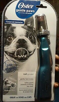 Oster Gentle Paws: Less Stress Nail Grinder For Cats & Dogs: opened BUT NEW!!!