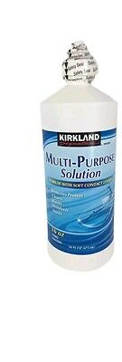 Kirkland Multi-purpose Contact Lens Disinfecting Solution 16ONZ (FREE SHIPPING)