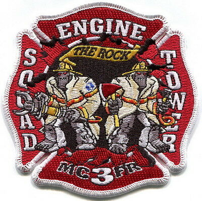 Maryland - Montgomery Co. Fire & Rescue Rockville station 3 current patch