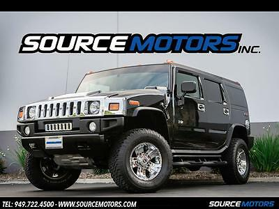 2004 Hummer H2 Base Sport Utility 4-Door 2004 Hummer H2 SUV, Chrome Package, Leather Interior, Brush Guard, Running Board