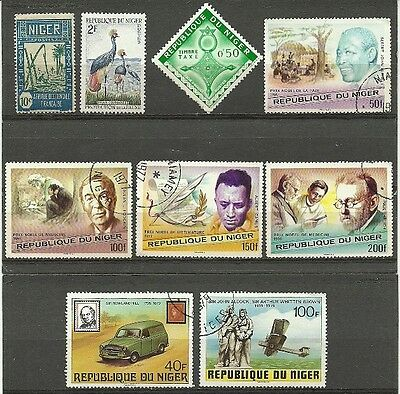 Africa Niger mint/used lot 1926-79
