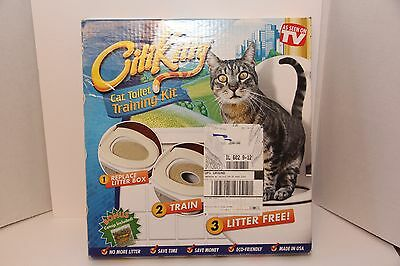 CITIKITTY CAT TOILET SEAT TRAINING SYSTEM - Save $$$$ UPC CODE: 858878002004