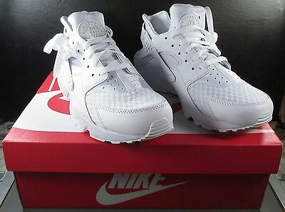 310c9b9c1efe New Nike Air Huarache White Pure Platinum Running Shoes Sneakers 318429-111 Sz  9