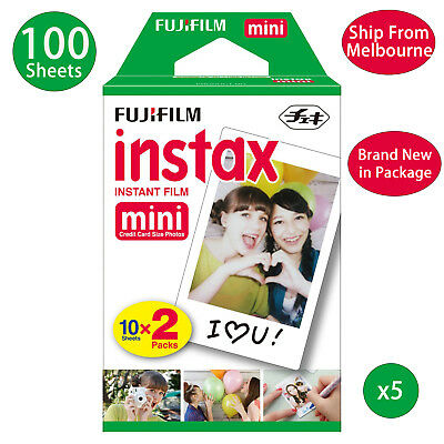 Fujifilm Instax Mini Film Fuji instant photos 7s 8 90 25 50 SP-1 Polaroid 300