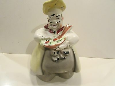 Regal China French Salad Chef Cookie Jar