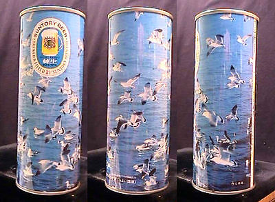 Suntory Beer Early 1970's 500Ml Pull Tab Birds In Nature Series/set Can - Japan