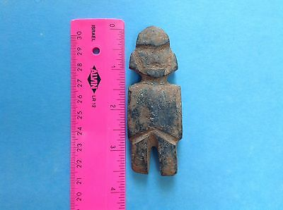 Pre Columbian Mezcala Stone Figure Artifact
