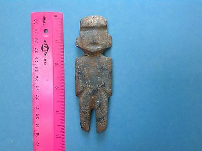 Pre Columbian Stone Figure Mezcala Artifact
