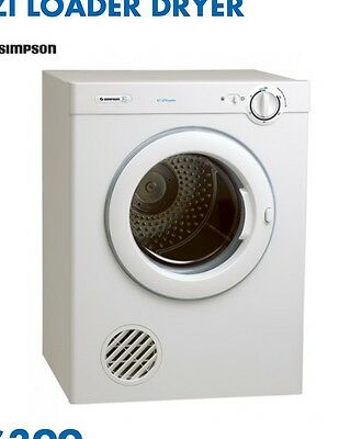simpson 5kg dryer