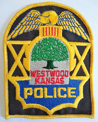 Westwood Kansas Police Patch // Old Style