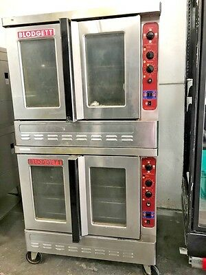 Blodgett Gas Double Stack Deck Full Size Convection Oven