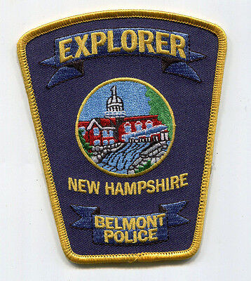 Belmont New Hampshire Police Explorer Patch