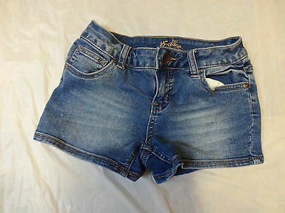 Justice Girl's Denim Used Shorts Size 8R