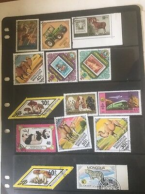 stamps  Mongolia - Used - Lot 331