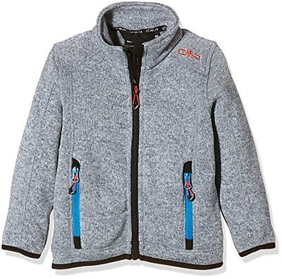 CMP giacca in pile, Ragazzo, Fleecejacke, Grey/Ice, 140 (F2D)
