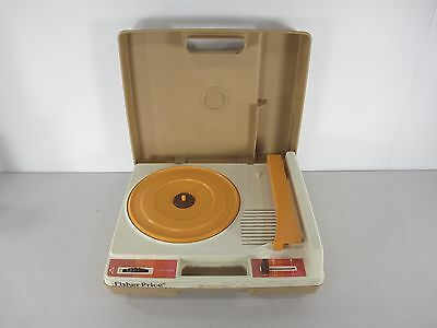 Fisher Price 825 Portable Phonograph Turntable Record Player 33 and 45 RPM