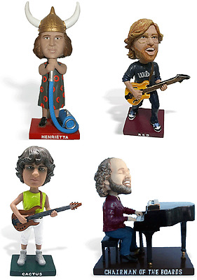 Phish Bobbleheads Full Set of All 4 band members NOT tickets Chicago Northerly