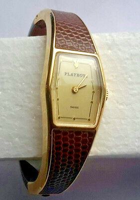 Vintage Women's 1950s Playboy Wind-Up Wrist Watch ~ Swiss Made ~ Collectable